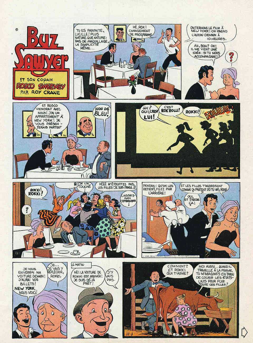 Wash Tubbs, Buz Sawyer par Roy Crane - Page 3 Cranes13