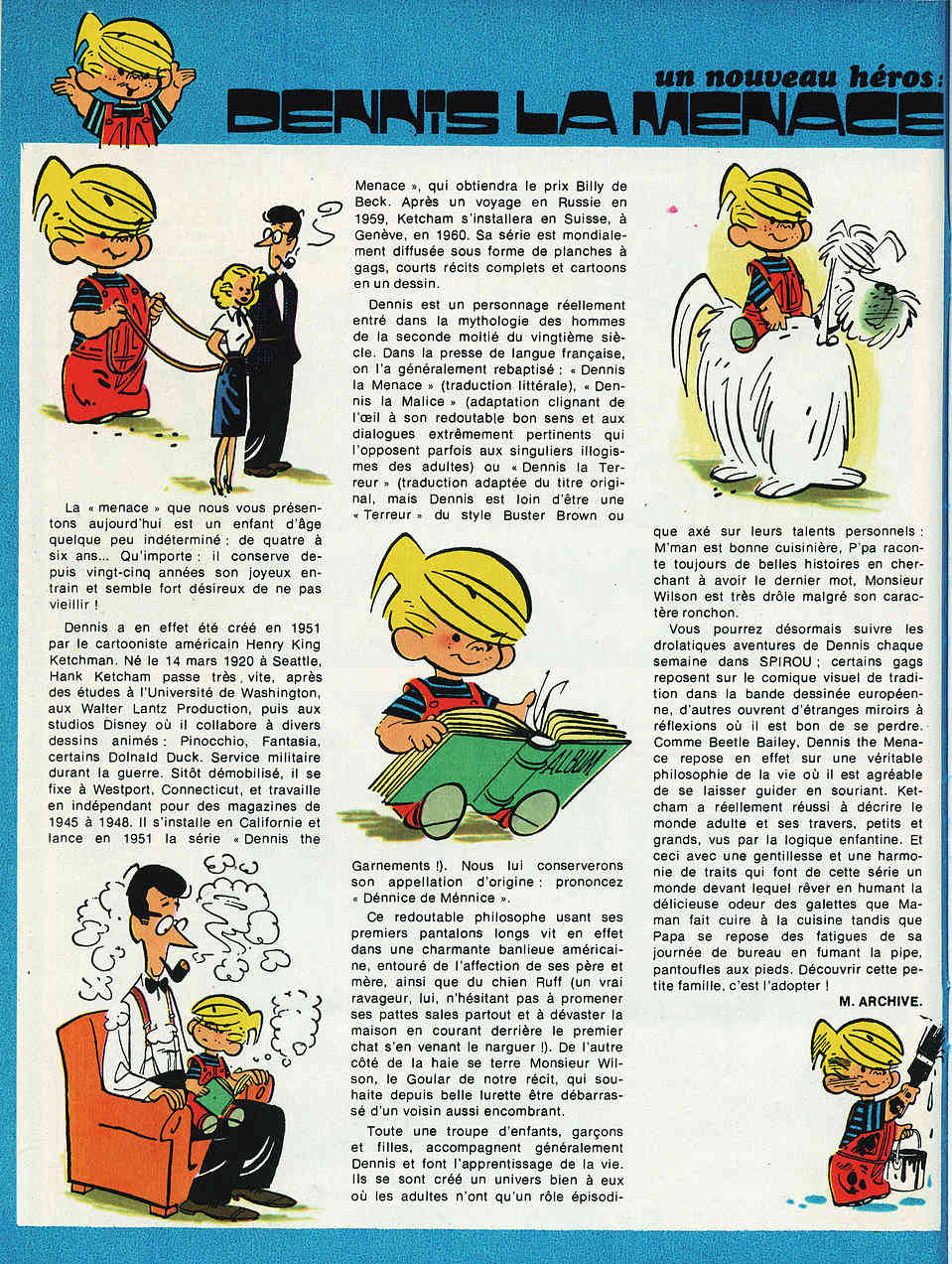 Hank Ketcham et Dennis the Menace ( Denis la Malice ) - Page 5 Dennis11