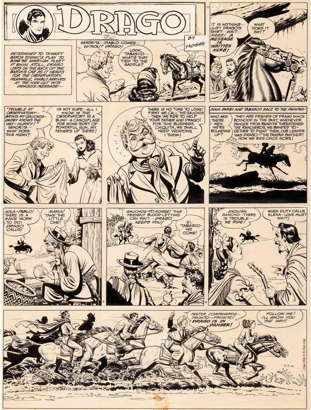 Burne HOGARTH - Page 3 Drago010