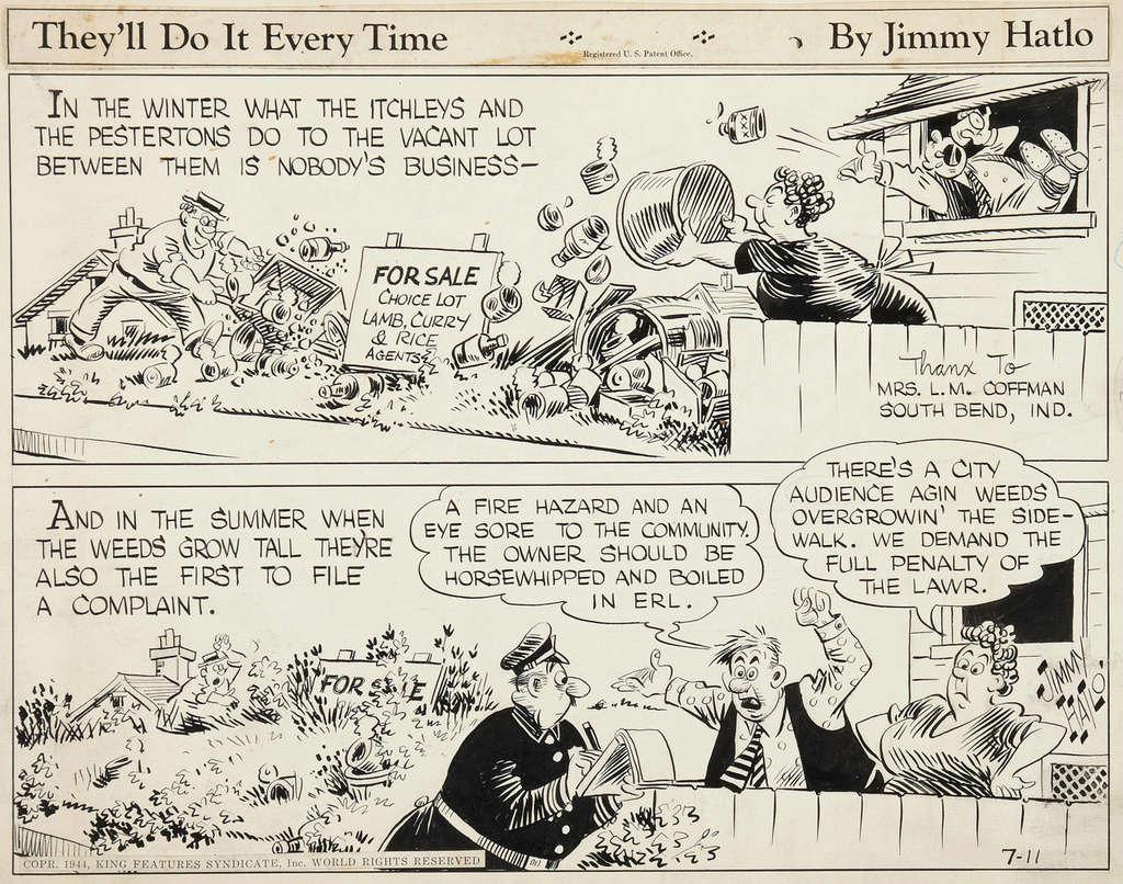 Les contradictions du genre humain ou le génie comique de Jimmy Hatlo - Page 2 Hatlot10