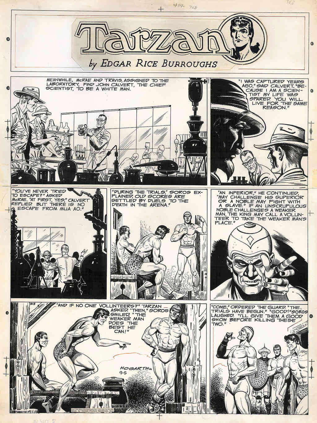 Burne HOGARTH - Page 3 Hogart13
