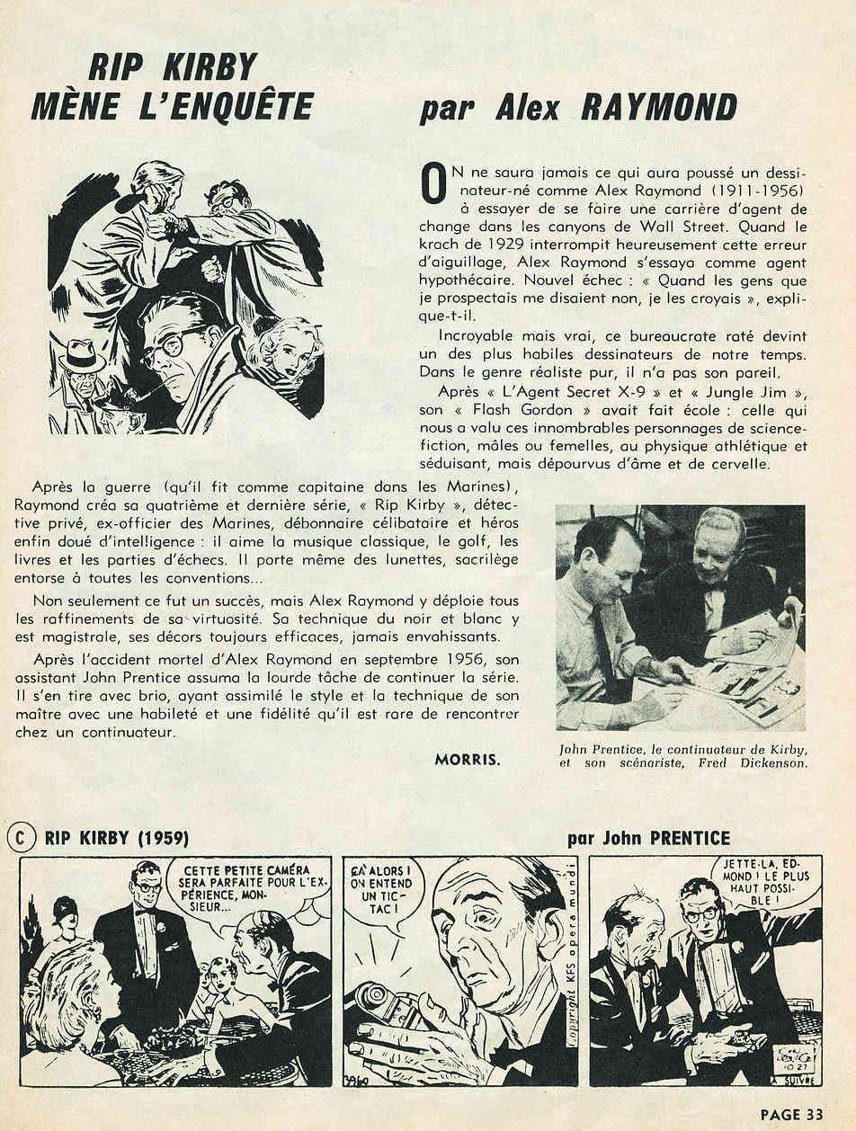 Alex RAYMOND et ses personnages - Page 7 Kirbys11