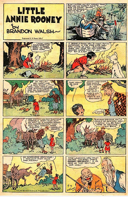 Darrell McClure, Nicholas Afonsky et la saga de la Petite Annie Little13