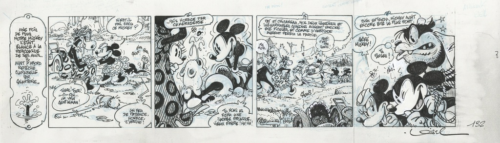 Mickey par Iwerks, Gottfredson et les autres - Page 9 Loisel10