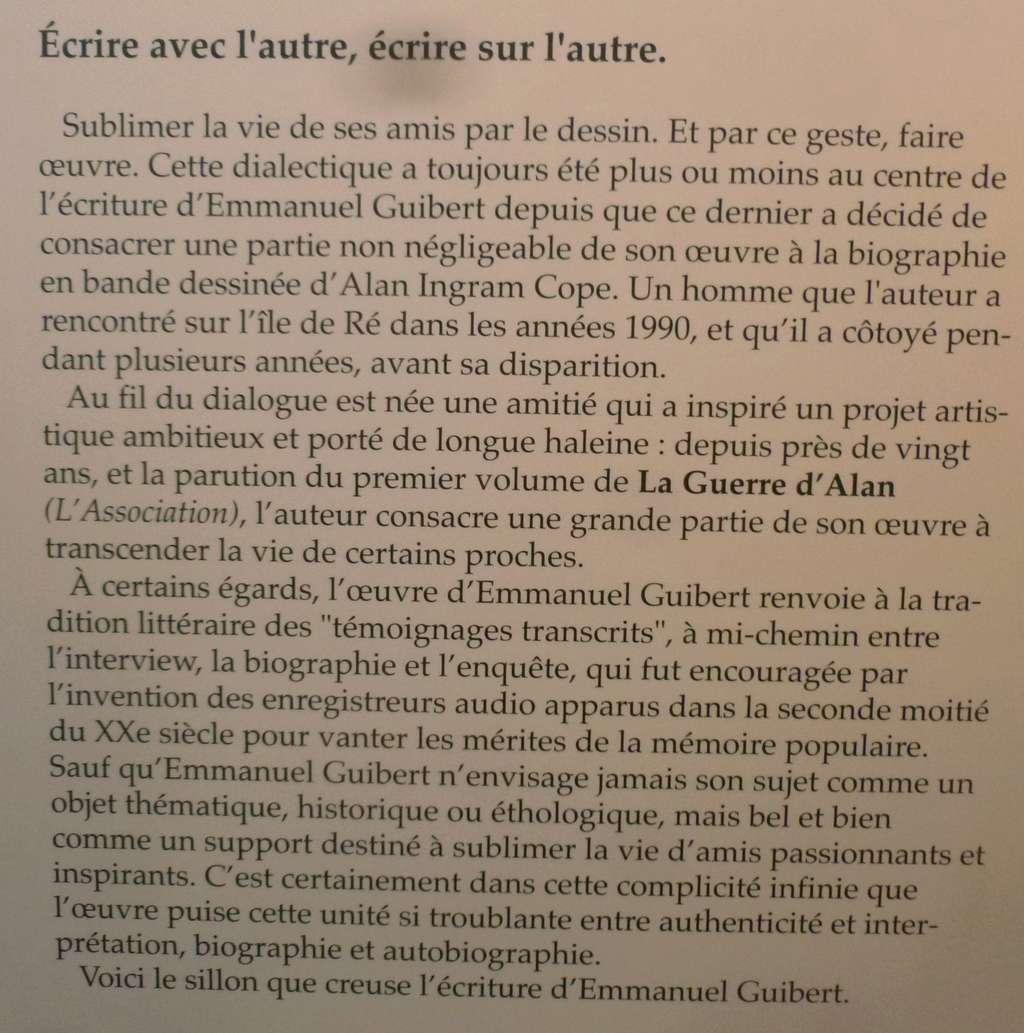 Les facettes d'Emmanuel Guibert P1410921
