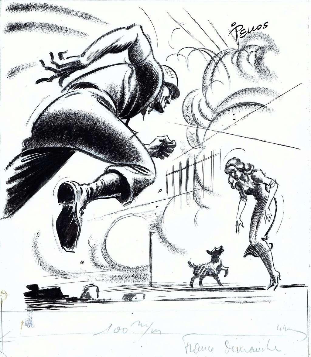 Les cases sportives de René PELLOS et autres séries toutes aussi remarquables - Page 3 Pellos13