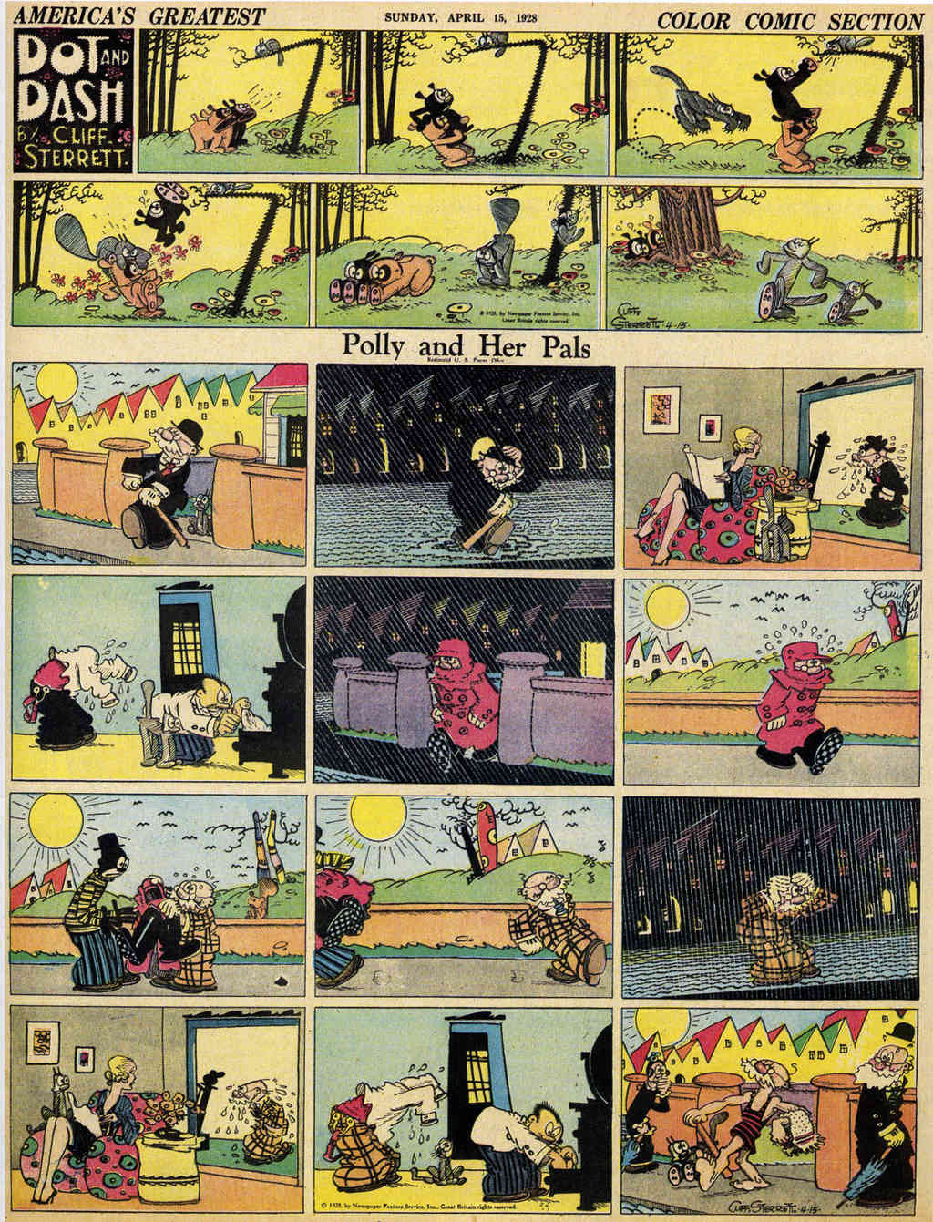 Cliff Sterett, auteur de Polly and her pals - Page 4 Polly110