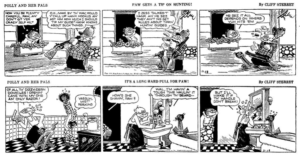Cliff Sterett, auteur de Polly and her pals - Page 3 Polly310
