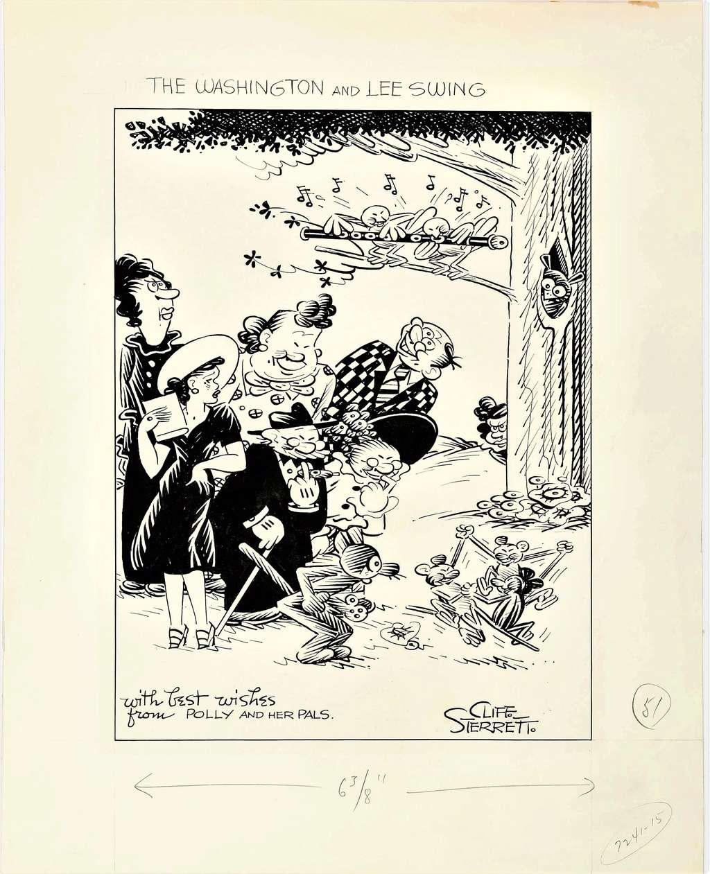 Cliff Sterett, auteur de Polly and her pals - Page 4 Pollya10