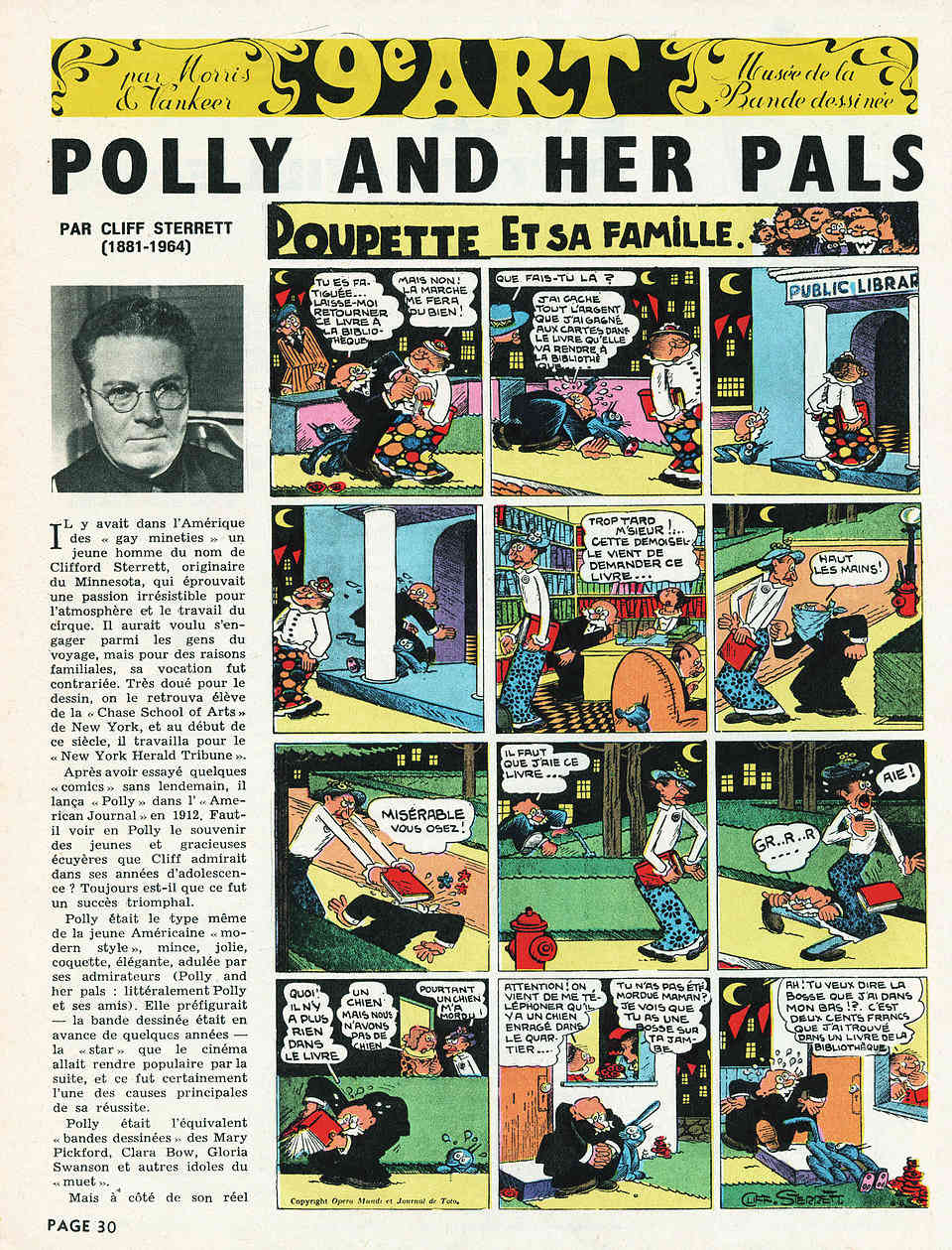 Cliff Sterett, auteur de Polly and her pals - Page 3 Pollys10