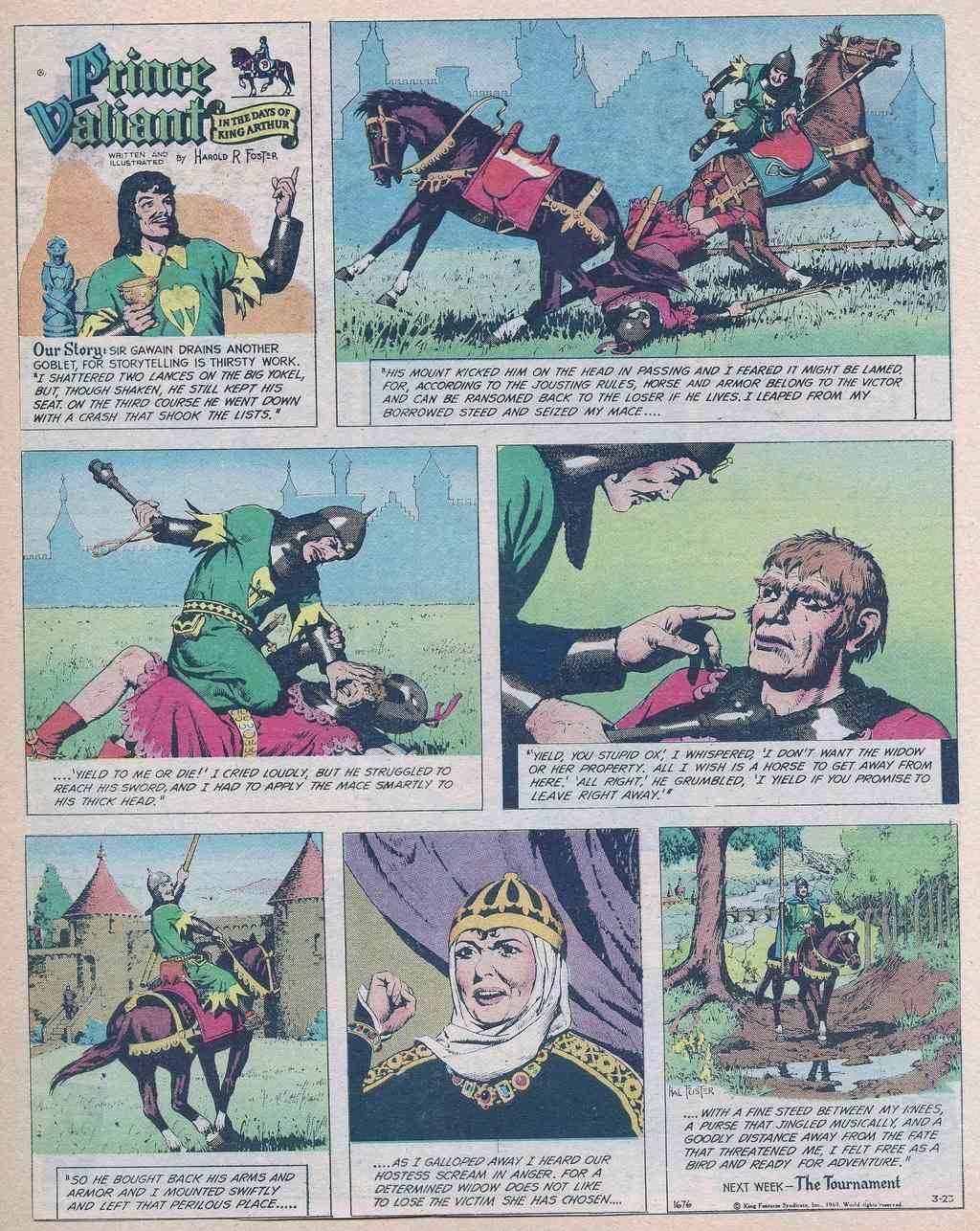 Prince Vaillant par Hal Foster - Page 16 Prince12