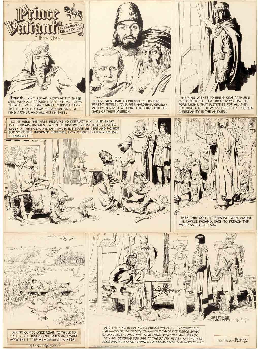 Prince Vaillant par Hal Foster - Page 16 Pv140510