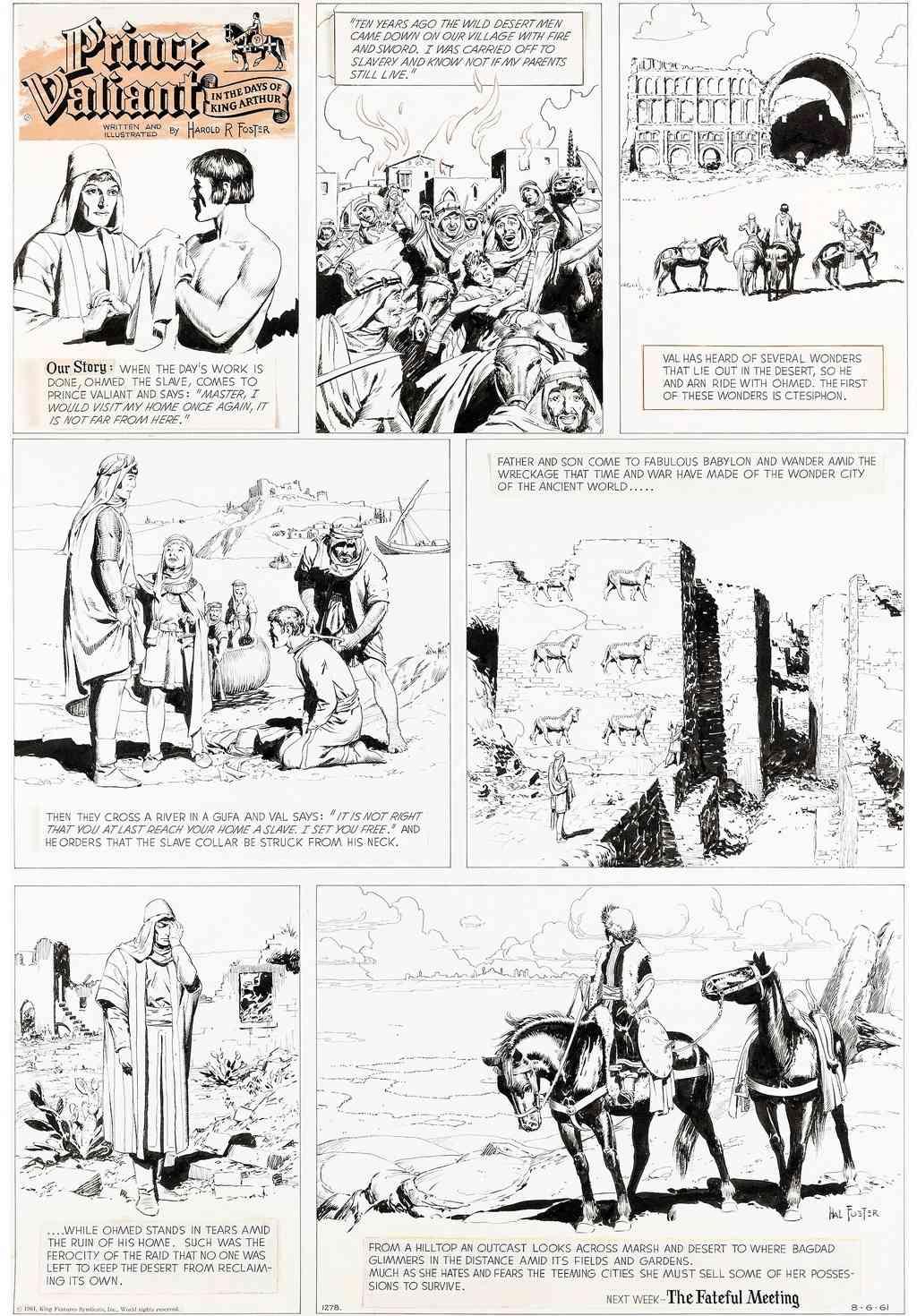 Prince Vaillant par Hal Foster - Page 16 Pvhane11
