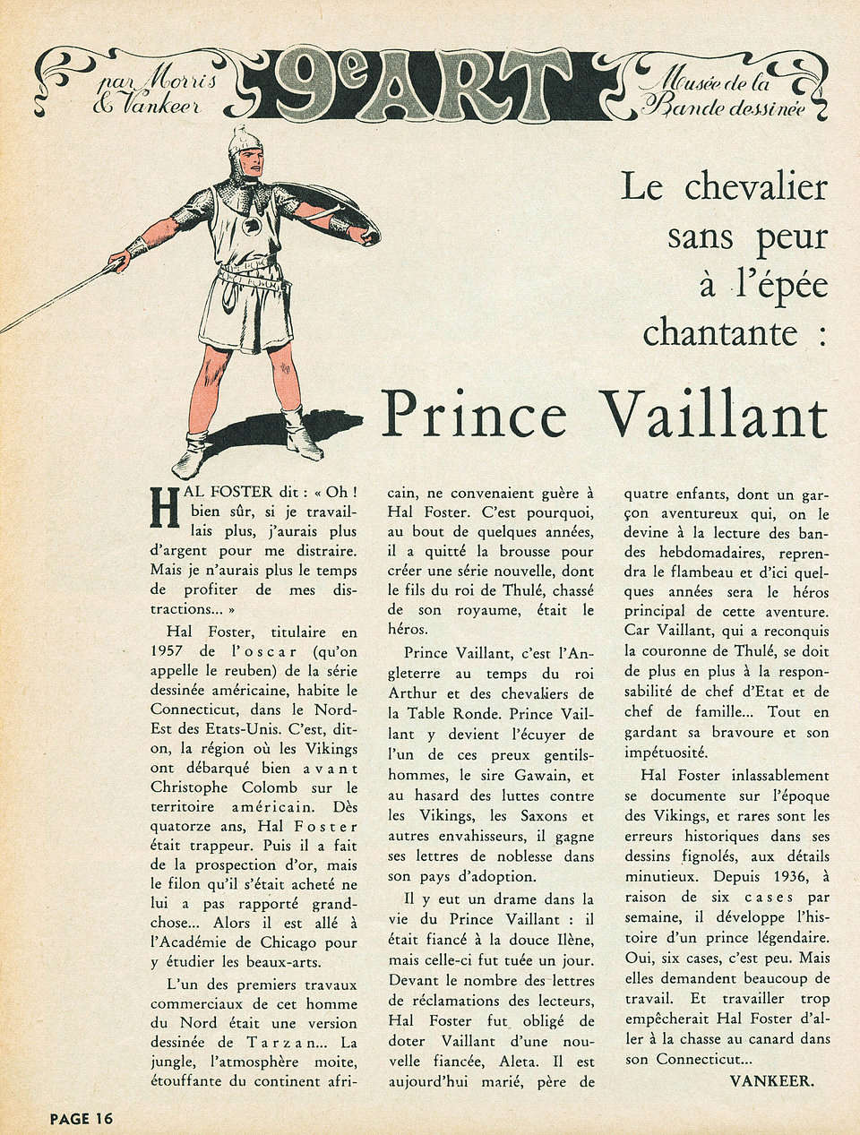 Prince Vaillant par Hal Foster - Page 16 Pvspir10