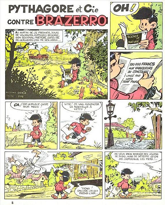 Derib et ses amis - Page 6 Pythag16