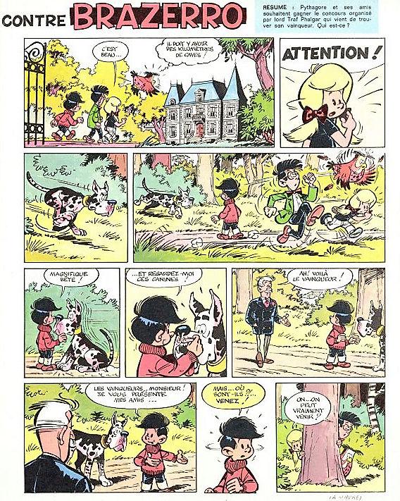 Derib et ses amis - Page 7 Pythag21