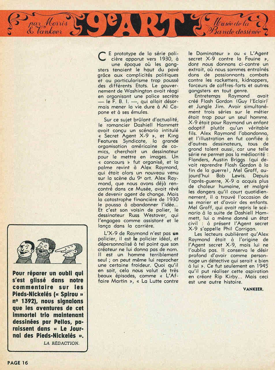 Alex RAYMOND et ses personnages - Page 7 Raymon12