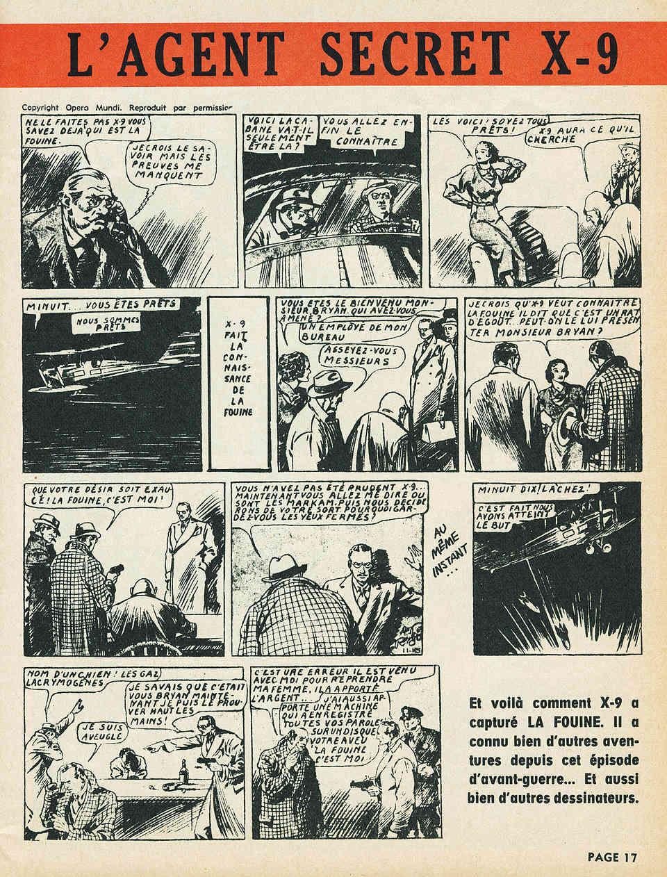 Alex RAYMOND et ses personnages - Page 7 Raymon13