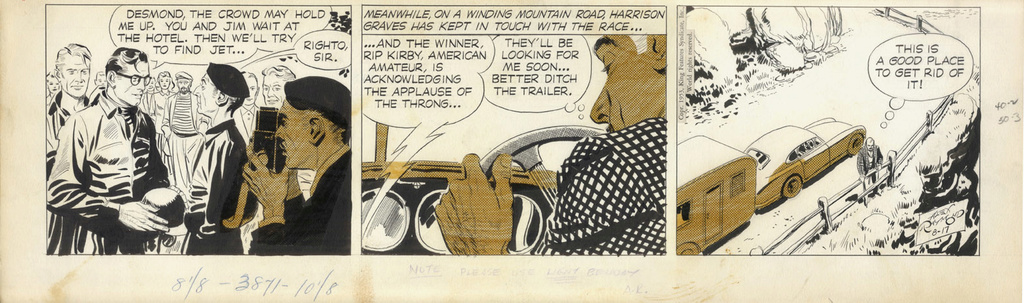 Alex RAYMOND et ses personnages - Page 8 Raymon15