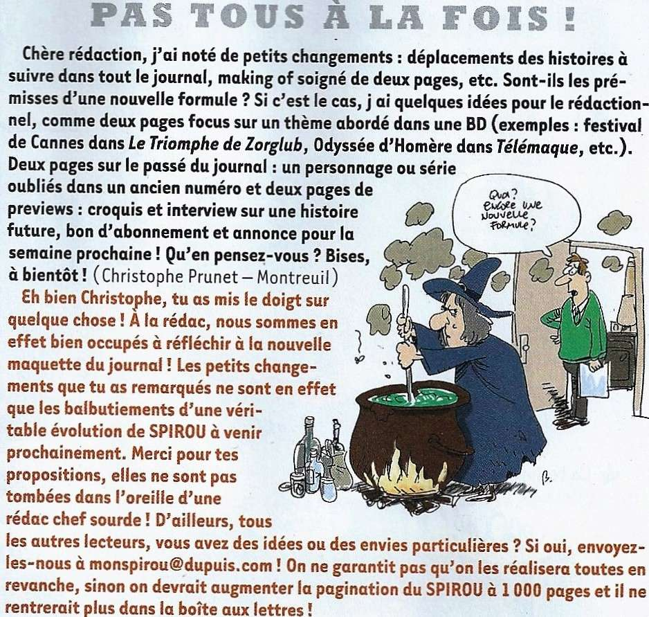 Spirou ... le journal - Page 22 Spired12