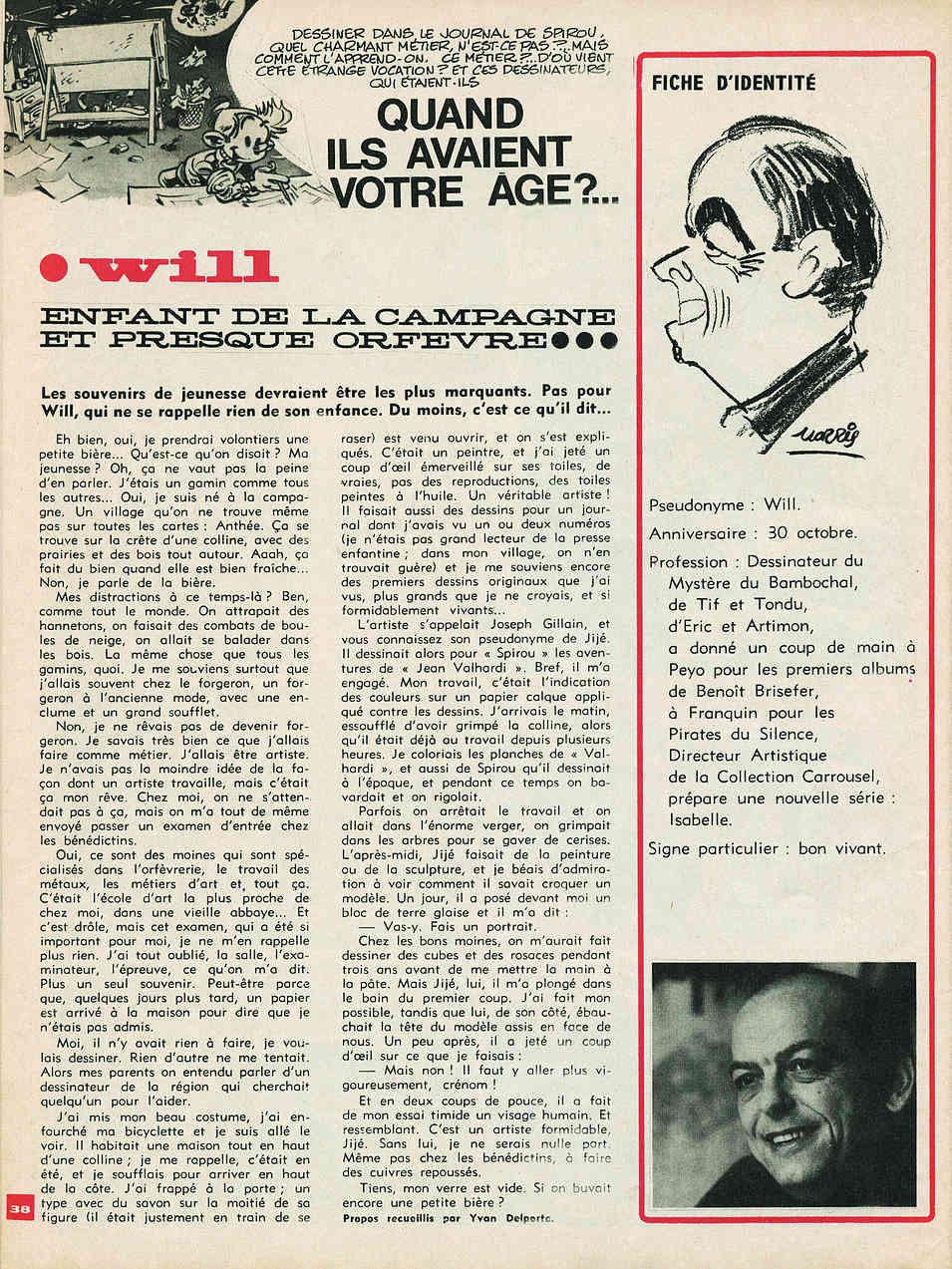 Will, l'artiste méconnu - Page 8 Willsp10