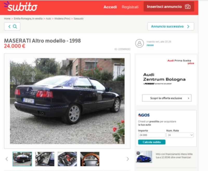 Quattroporte IV immagini Cattur10