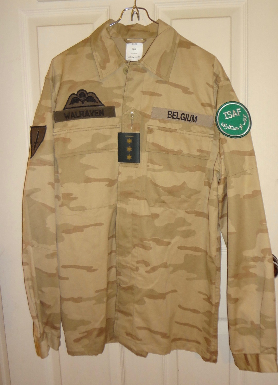 Belgian Desert Uniforms Dsc00410