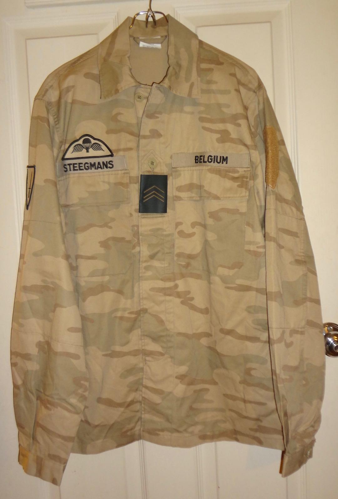 Belgian Desert Uniforms Dsc00411