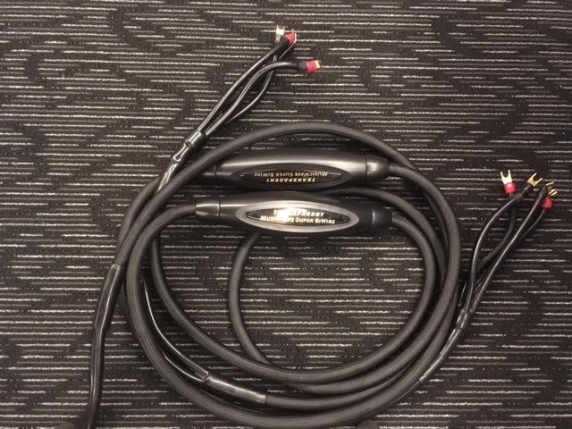 transparent musicwave super speaker cable used. Black Bedroom Furniture Sets. Home Design Ideas