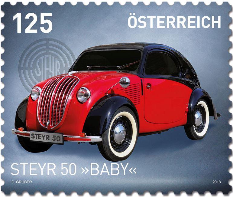 "Sondermarke ""Steyr Typ 50 - Baby"" 0102_s10"