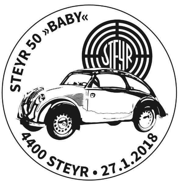 "Sondermarke ""Steyr Typ 50 - Baby"" 0102_s11"