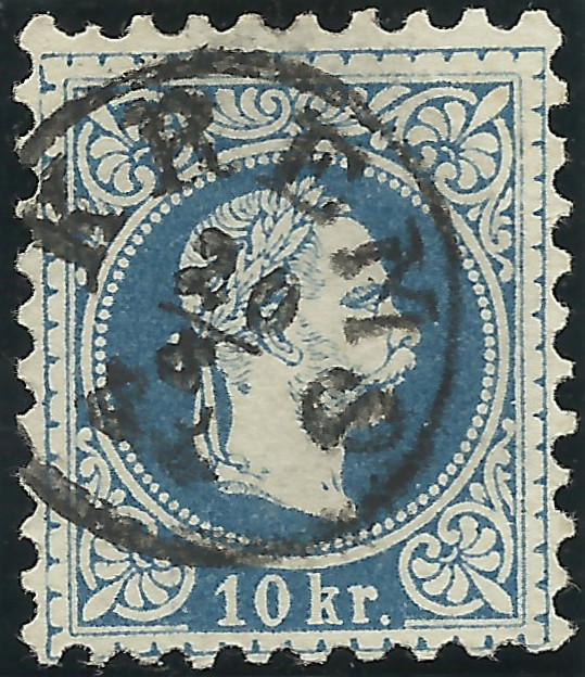Freimarken-Ausgabe 1867 : Kopfbildnis Kaiser Franz Joseph I - Seite 19 1867_s10