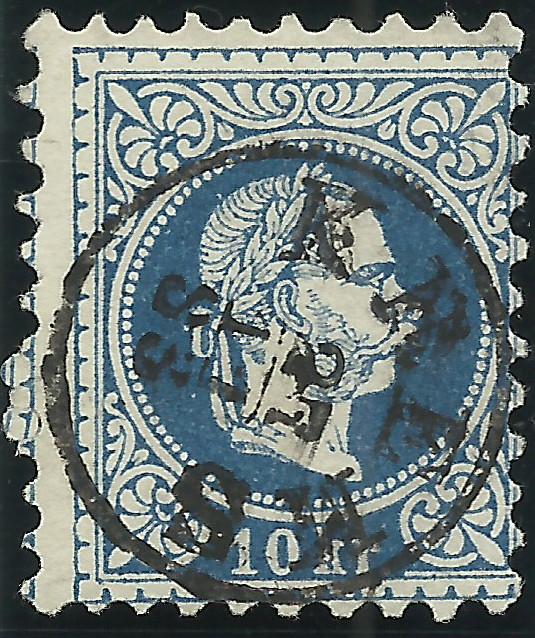 Freimarken-Ausgabe 1867 : Kopfbildnis Kaiser Franz Joseph I - Seite 19 1867_s11