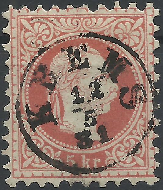 Freimarken-Ausgabe 1867 : Kopfbildnis Kaiser Franz Joseph I - Seite 19 1867_s12