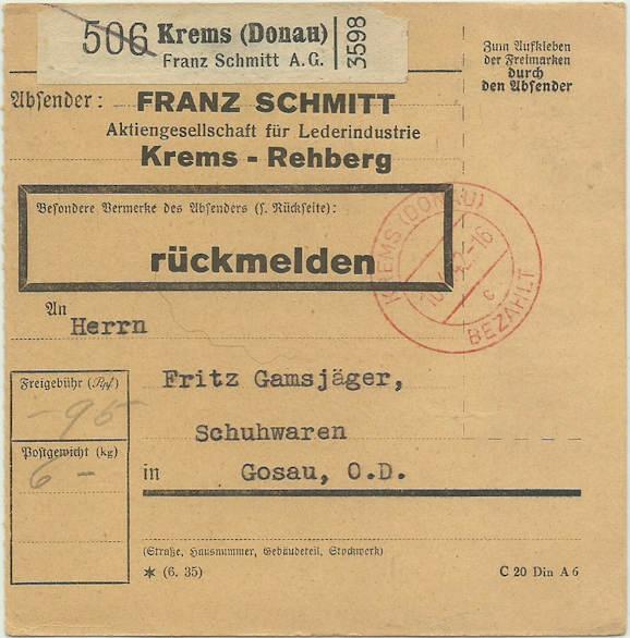 """Stempelfrage """"bezahlt"""" 1942_s10"""