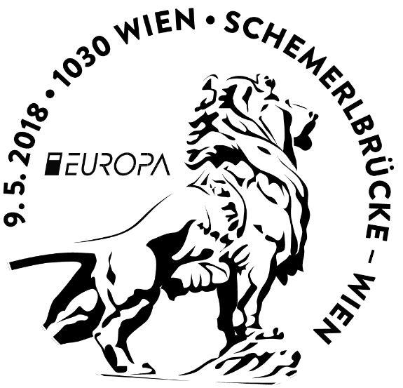"""Sondermarke """"Europa 2018 - Schemerlbrücke Wien"""" 1_sche11"""