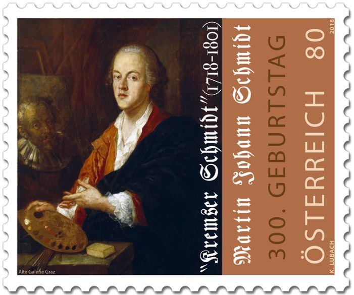 """Sondermarke """"300. Geburtstag Kremser Schmidt"""" 1_schm10"""