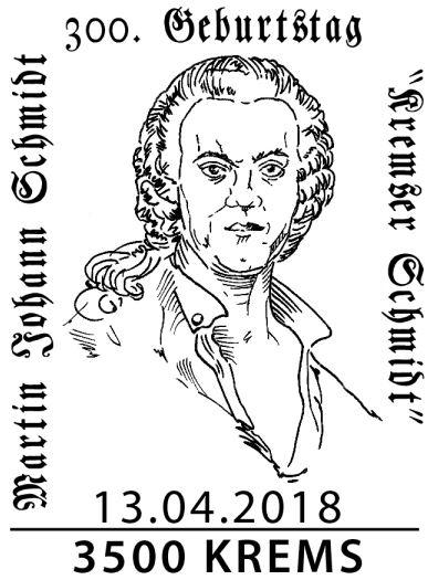 """Sondermarke """"300. Geburtstag Kremser Schmidt"""" 1_schm12"""