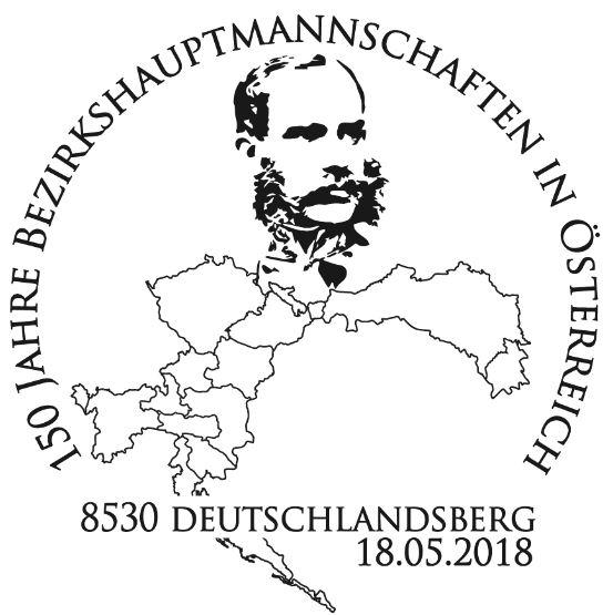"""Sondermarkenblock """"150 Jahre Bezirkshauptmannschaften"""" 2_bh_s10"""