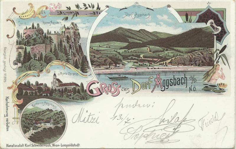 Aggsbach - Dorf Ak_agg10