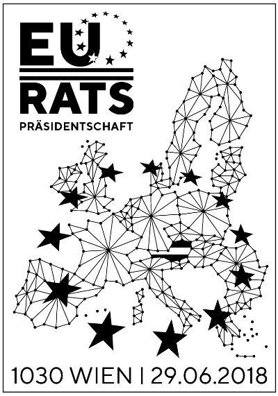 Sondermarke EU Ratspräsidentschaft Eu_st10