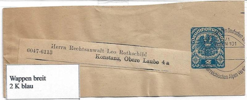 Streifbänder des DÖAV - Seite 2 Old110