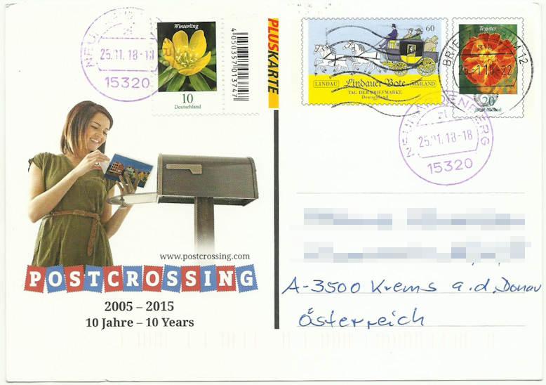 Postcrossing Postcr10