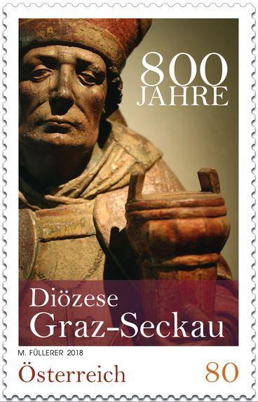 Sondermarke 800 Jahre Diözese Graz-Seckau Seckau10