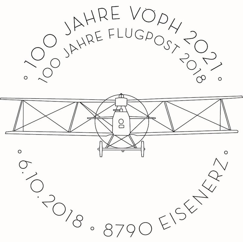 Sondermarke (Block) 100. Jahre Flugpost Sst_1010