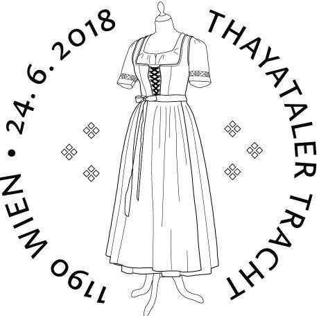Sondermarke Thayataler Tracht Tracht11
