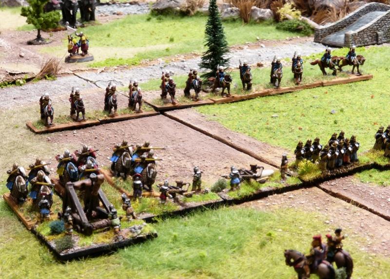 Premiers pas à Warmaster Ancients P1180922