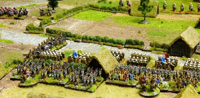 Premiers pas à Warmaster Ancients P1180933