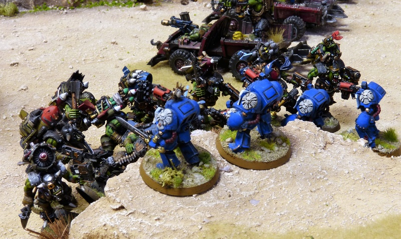 Warhammer 40K. Galerie de Batailles ! - Page 6 P1200368