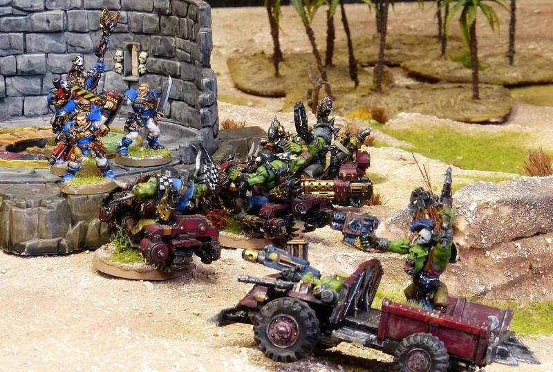 Warhammer 40K. Galerie de Batailles ! - Page 6 P1200369